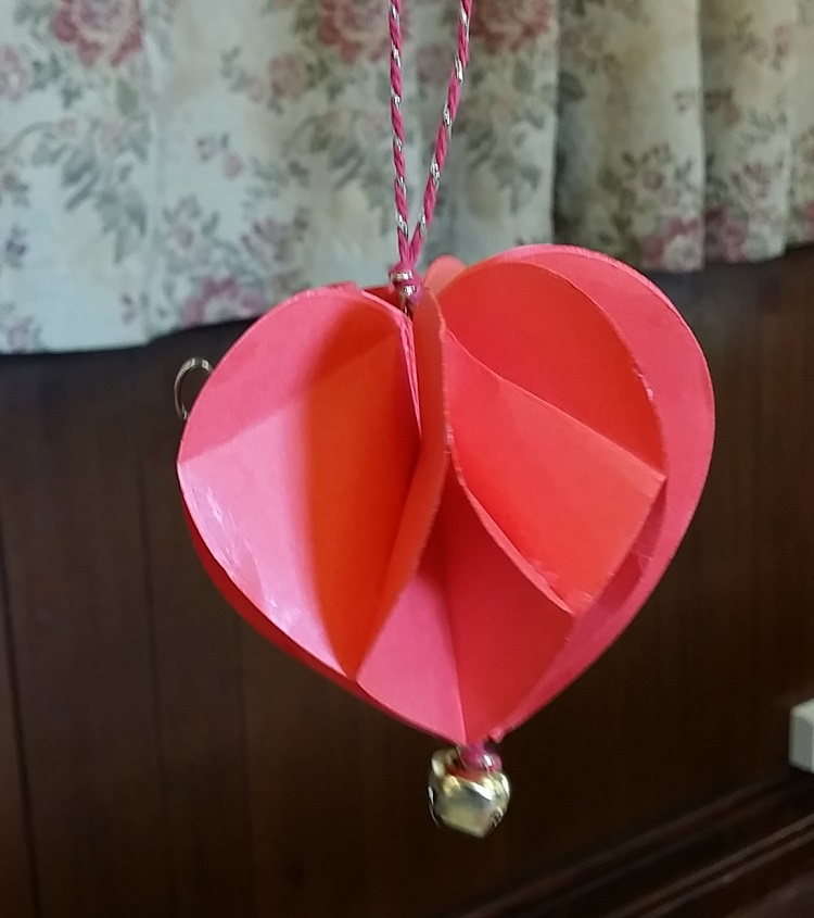 Make your own 3D valentine heart