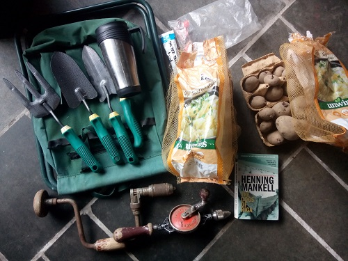 Free DIY and garden bits from Freegle