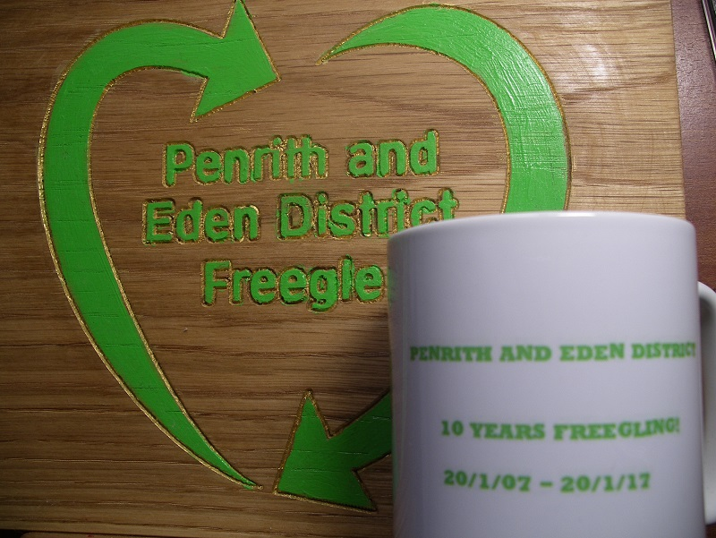 Happy 10th Birthday to Penrith and Eden District Freegle!