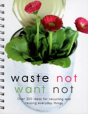 Waste Not Want Not book prize